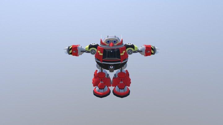Sonic The Hedgehog 4 Episode I - Death Egg Robot 3D Model