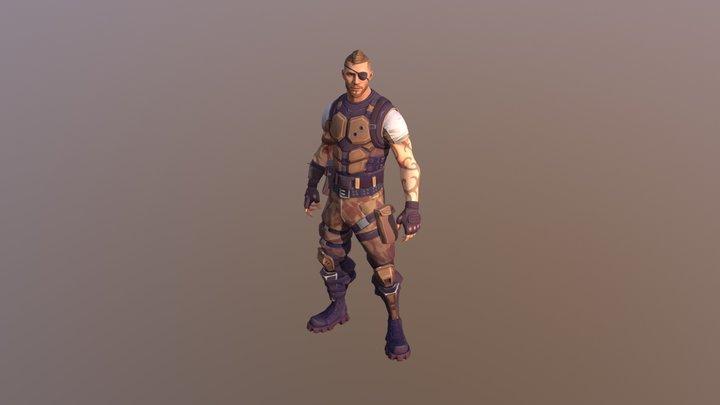Battlehawk 3D Model