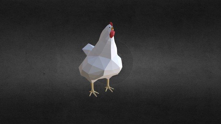 Chicken - rigged 3D Model