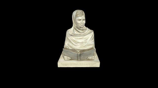 Malala Yousafzai 3D Model