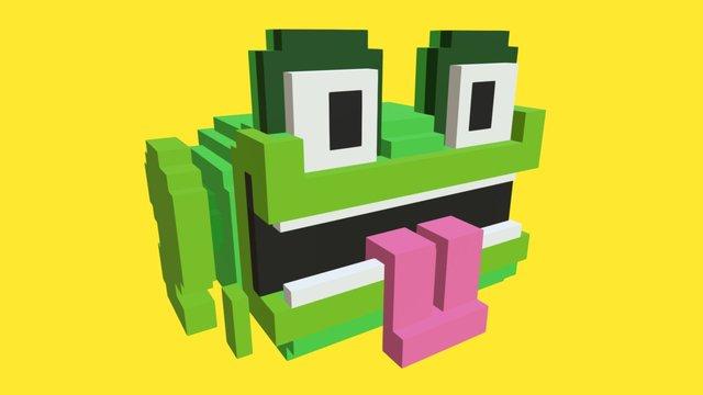 Daily Voxel #9 | Frog 3D Model