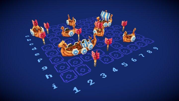 Board Game // 3December 2020 3D Model