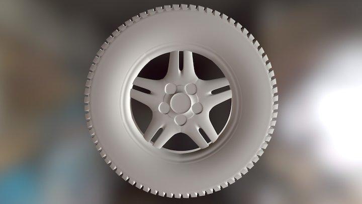 Tire Exercise 3D Model