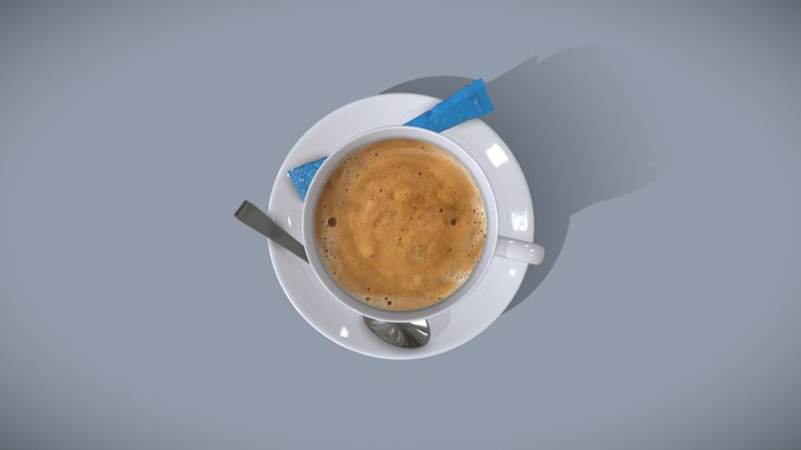 Swisscontent Coffee Cup 3D Model