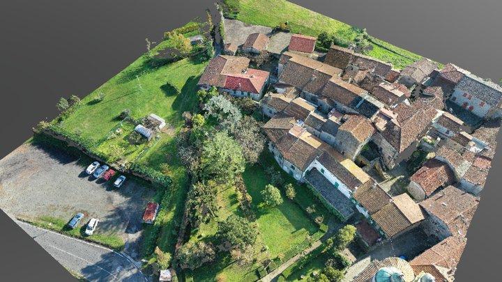 Borgo di Ponticello - Filattiera (MS) 3D Model