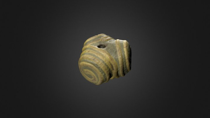 Loch Eriboll Bead 3D Model