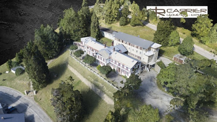 LE REVARD Drone 3D Model