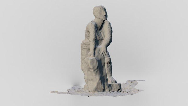 Nagyharsányi Szoborpark 3D Model