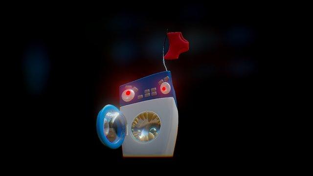 SGP 28 - Robot Dystopia - Washing-o-ton 3D Model