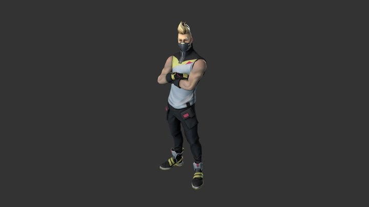 Drift Outfit (Stage #1) 3D Model