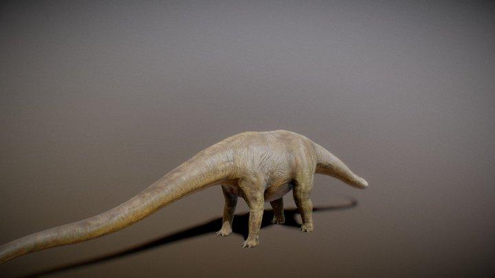 Mamen River Dragon 3D Model