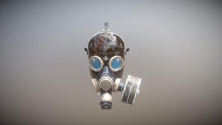 Antigas mask 3D Model