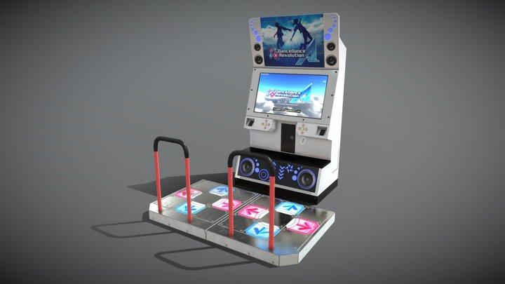 DDR-A Cabinet 3D Model