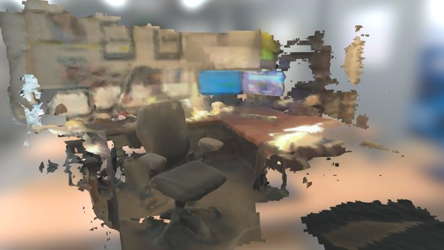 Misha Desk 3D Model