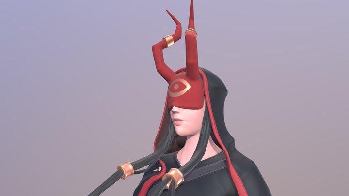 Shinobi test 3D Model