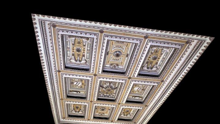Soffitto del Salone del Tibaldi 3D Model