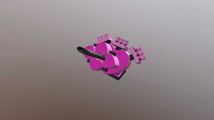 Torre Coracao 3 3D Model