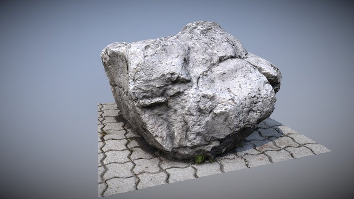 Rock | Stone | Scanned 3D Model