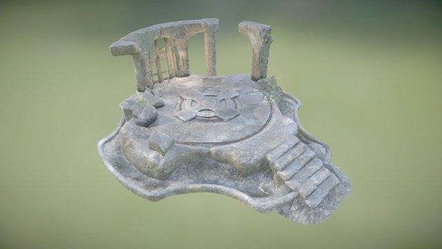 Celtic Ruin 3D Model