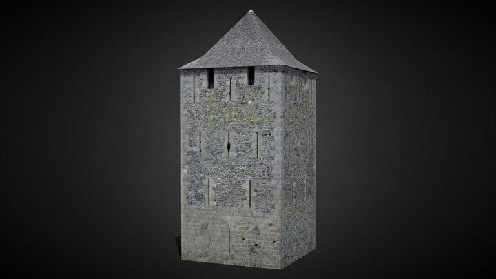 Fougères Square Tower [France] 3D Model