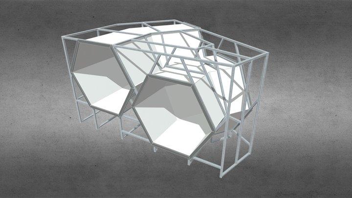 Modul time travel M10.1 3D Model
