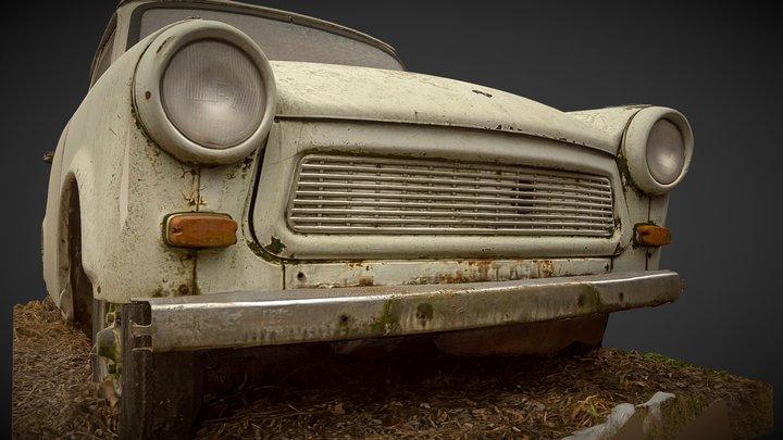 Trabant Vintage Super Car 3D Model