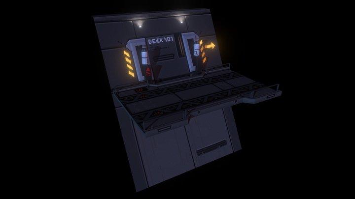 Platform Deck 401 3D Model