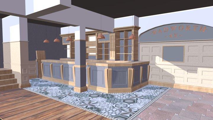 Inn In The Park 3D Model
