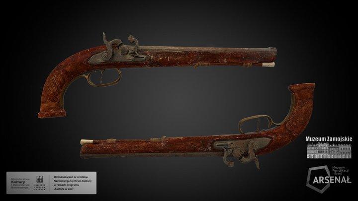 Pistolety 3D Model