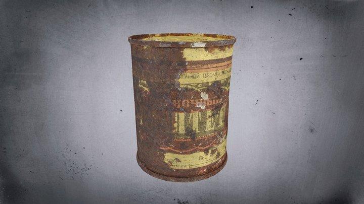 Potravinová konzerva /  Food Can 3D Model