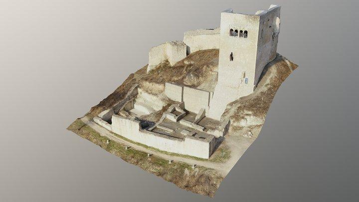 Lobdeburg Jena 3D Model