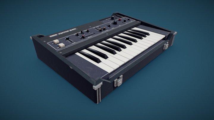 KORG Synthe-Bass Retro Synthesizer 3D Model