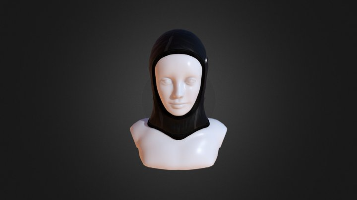 Hijab modeling & texturing 3D Model