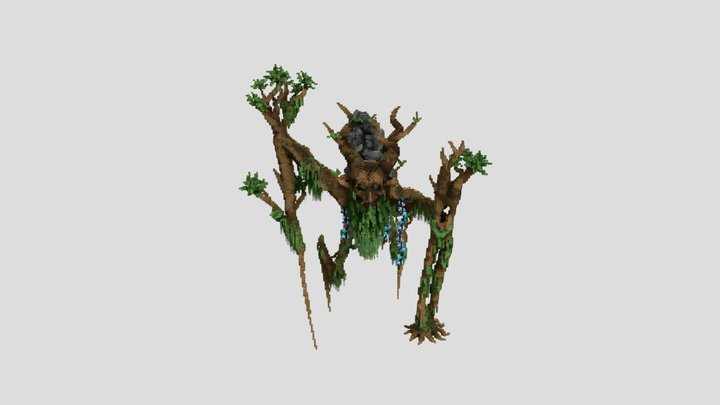 Forest magic creature 3D Model