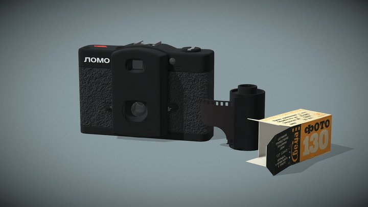 LOMO Compact-Automat / ЛОМО Компакт-Автомат 3D Model