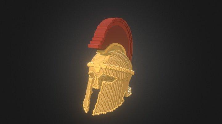 Spartan Helm 3D Model