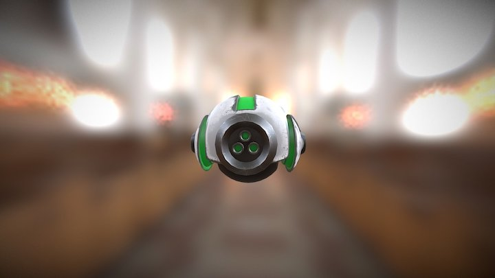 Robot Drone 3D Model