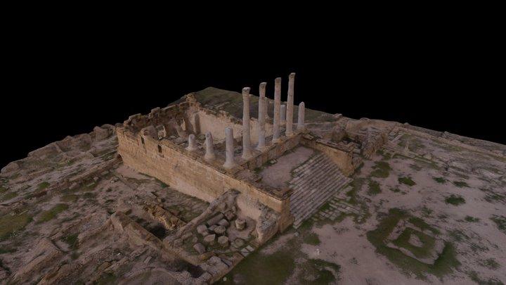 Capitolium, Thuburbo Majus 3D Model