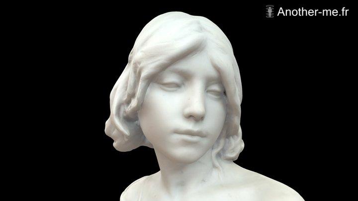 Saint Jean Baptiste enfant - 1883 3D Model