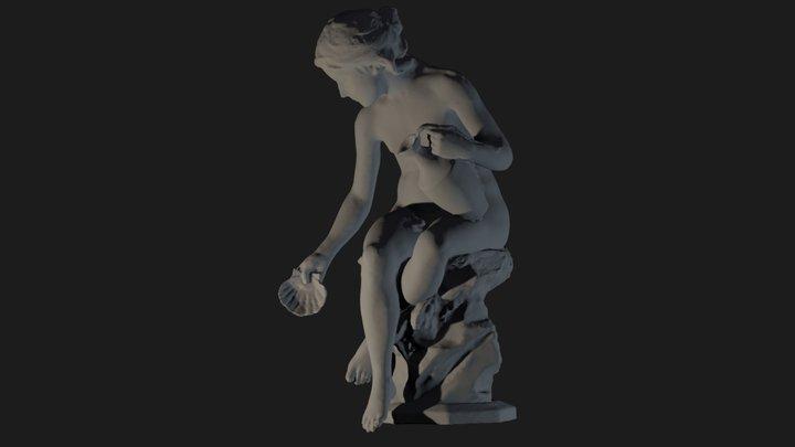 Girl Fountain 3D Model