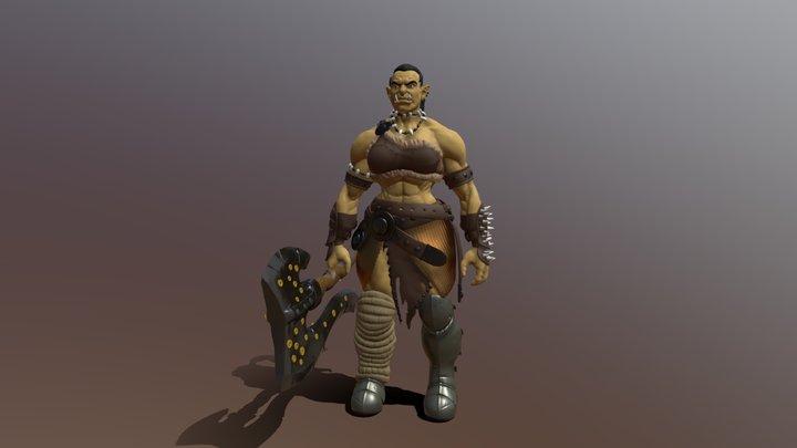 She-Orc s2 3D Model