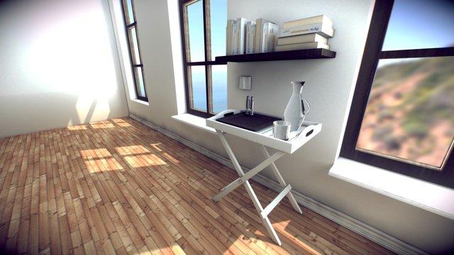 Interior Experiment 3D Model