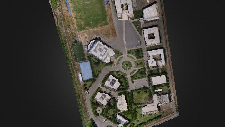 Universidad de Talca, Campus Curico, Chile 3D Model