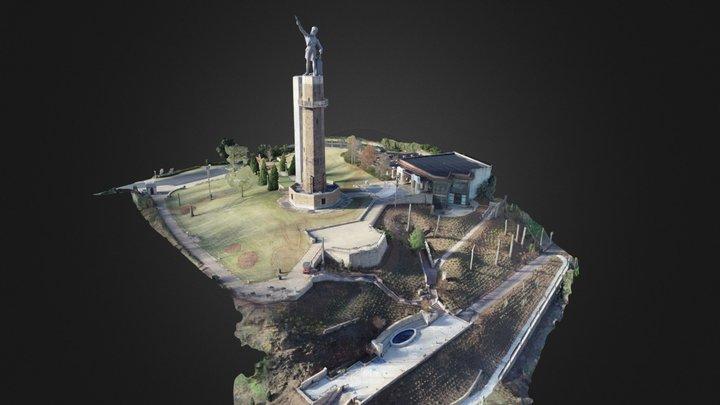 Vulcan Kiwanis Pavilion 3D Model