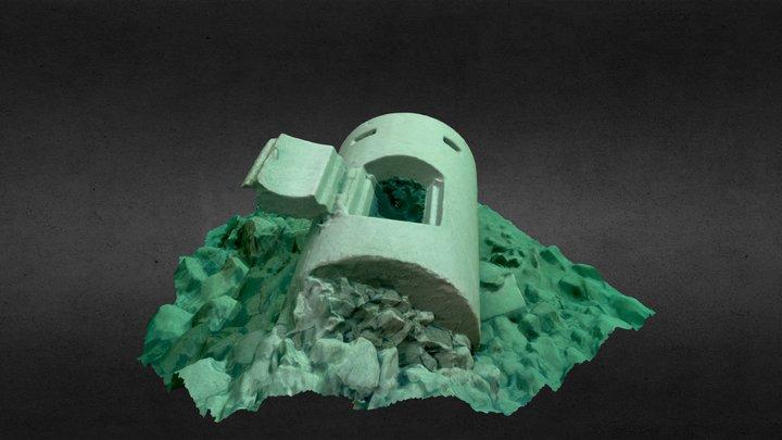 Einmannbunker (Walchensee) 3D Model