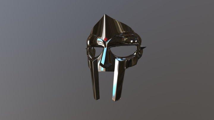 MF DOOM Mask 3D Model