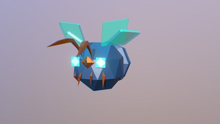 Night Bug@ Idle 3D Model
