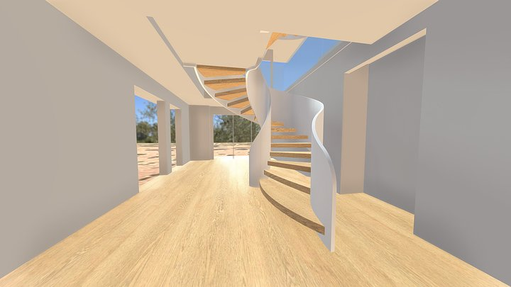 Staircase options 3D Model