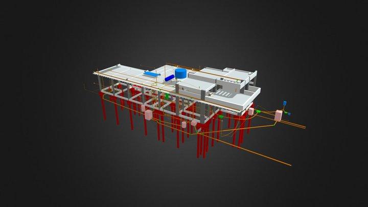 Térreo - 201,77 m² 3D Model