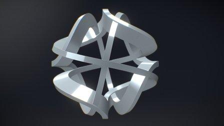 Skulptur PHI 3D Model